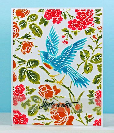 Wednesday Tutorial - Colored Dry Embossing