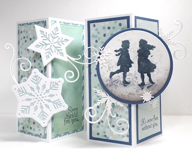 Wednesday Tutorial - Decorative Corner Card