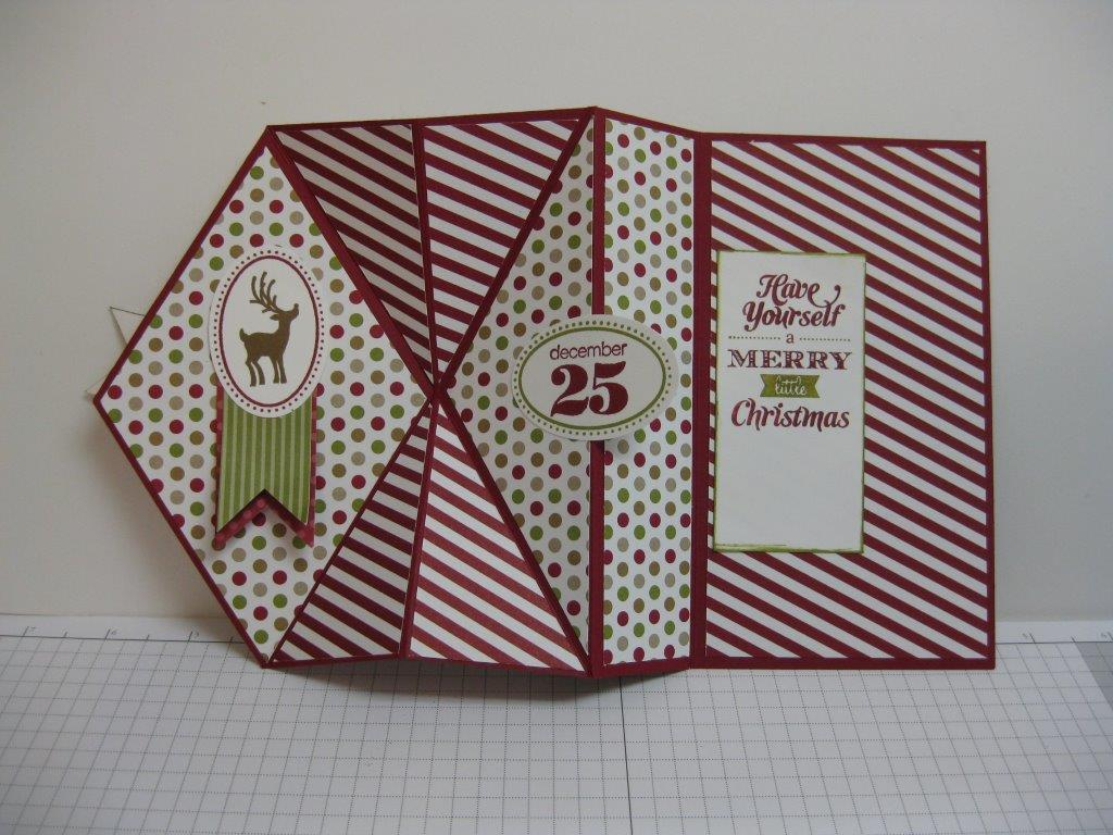Splitcoaststampers card making rubber stamping paper for How to make folded christmas cards