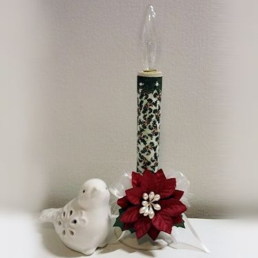 2014 Holiday Tutorial Blitz - Altered Candlestick