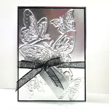 Embossing with Detailed Dies - Wednesday Tutorial