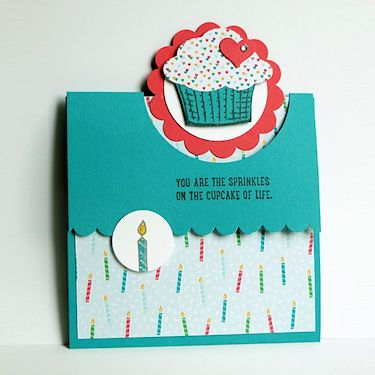 Wednesday Tutorial - Flap Fold Card