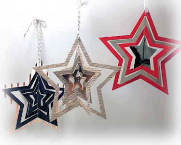 Stitched Star Ornament - Wednesday Tutorial
