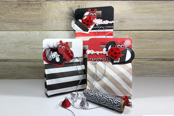 Topped Treat Bag - Wednesday Tutorial