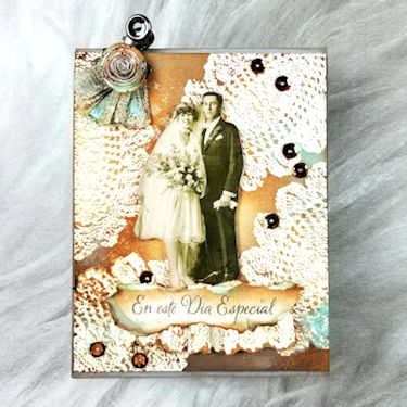 Layered Vintage Card - Wednesday Tutorial