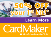 CardMaker Kit-of-the-Month