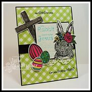 Silly Rabbit, Easter is for Jesus - by Julie Gearinger
